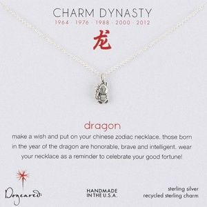 Dogeared Chinese Zodiac Dragon Necklace
